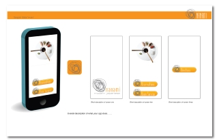 Phone App design for the restaurant