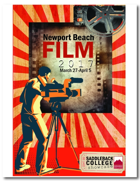 A poster design for an entry to Newport Film Festival