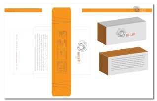 Tea box Packaging design using illustrator.