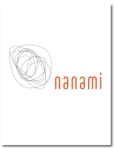 A Minimalist Logo representing an upscale Japanese restaurnat