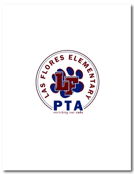 Logo design for Las Flores Elementary School PTA