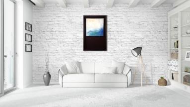 'Water' display in room