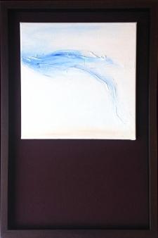 """Original """"Wind"""" Framed"""