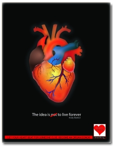 Organ Donation Ads designed as a social message ,made in illustrator